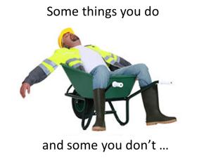 sleeping contractor